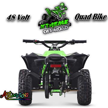 48-v-1000-w-renegade-atv-kids-quad-bike-green-8