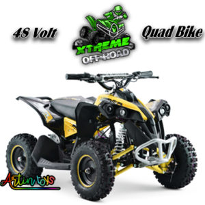 48-v-1000-w-renegade-atv-kids-quad-bike-yellow-5
