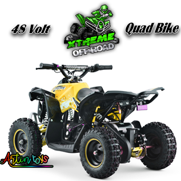 48-v-1000-w-renegade-atv-kids-quad-bike-yellow-7