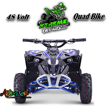 48-v-1000-w-renegade-race-atv-kids-quad-bike-blue-6