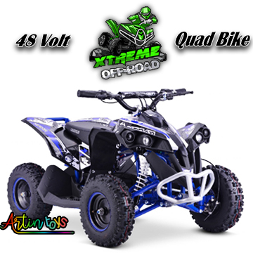 48-v-1000-w-renegade-race-atv-kids-quad-bike-blue-7