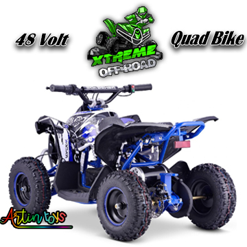 48-v-1000-w-renegade-race-atv-kids-quad-bike-blue-9
