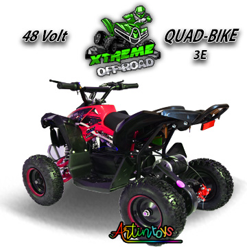 48-v-1000-w-renegade-race-atv-kids-quad-bike-red-13