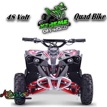 48-v-1000-w-renegade-race-atv-kids-quad-bike-red-6