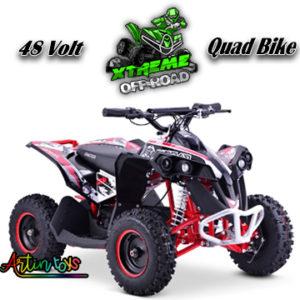 48-v-1000-w-renegade-race-atv-kids-quad-bike-red-7