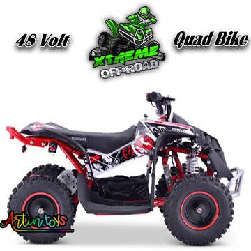 48-v-1000-w-renegade-race-atv-kids-quad-bike-red-8