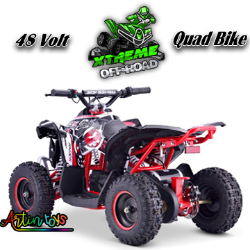 48-v-1000-w-renegade-race-atv-kids-quad-bike-red-9