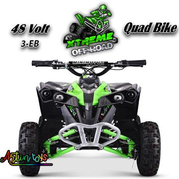 48-v-1060-w-atv-kids-ride-on-quad-bike-green-1