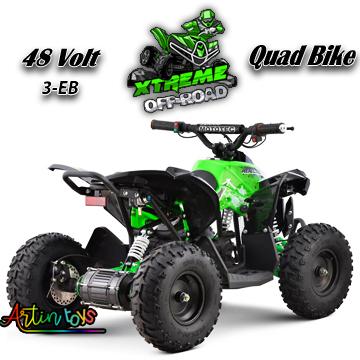 48-v-1060-w-atv-kids-ride-on-quad-bike-green-3