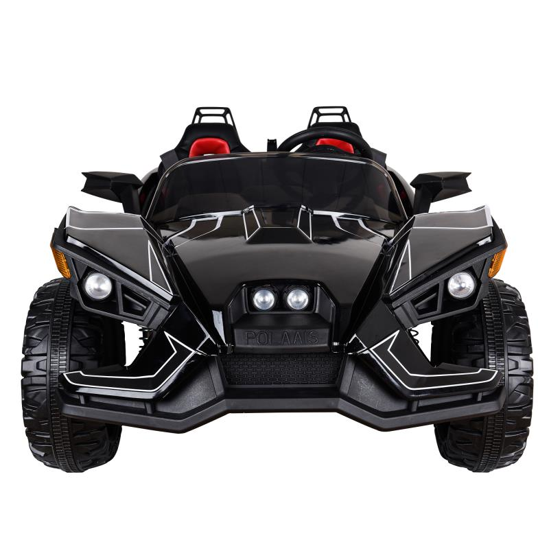 12v Big Black Slingshot 2 Child Roadster ,Kids Cars,Kids