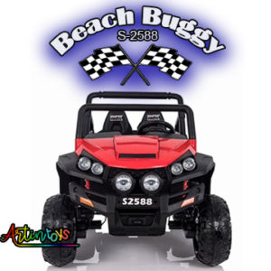 ride on toy car 400 w 24 v Polaris Beach Buggy for kids red-15