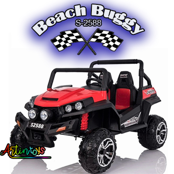 ride on toy car 400 w 24 v Polaris Beach Buggy for kids red-16