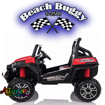 ride on toy car 400 w 24 v Polaris Beach Buggy for kids red-18