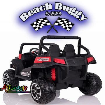 ride on toy car 400 w 24 v Polaris Beach Buggy for kids red-19