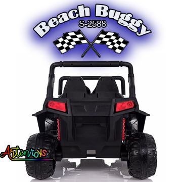 ride on toy car 400 w 24 v Polaris Beach Buggy for kids red-20