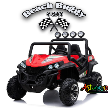 ride on toy car 400 w 24 v Polaris Beach Buggy for kids red-25