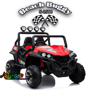 ride on toy car 400 w 24 v Polaris Beach Buggy for kids red-26