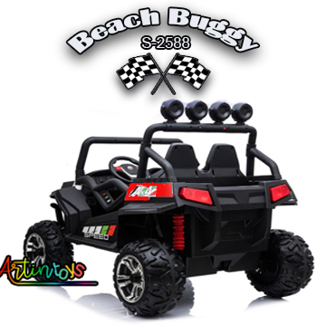 ride on toy car 400 w 24 v Polaris Beach Buggy for kids red-27